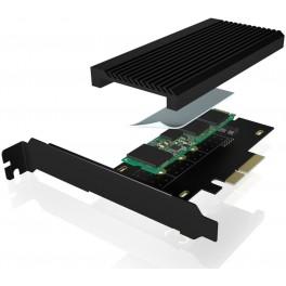Placa PCIe 4.0 x4 - Para SSD M.2 PCIe NVMe GEN 4 - Com Dissipador