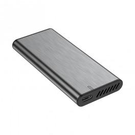Caixa Alumínio - SSD M.2 SATA - USB 3.1 - Cinza