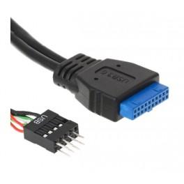 Adaptador Interno DELOCK de USB 2.0 (M) para USB 3.0 (F)