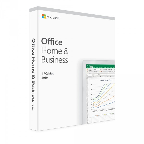 Microsoft Office Home & Business 2019 PT - WIN + MAC