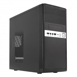 Caixa mATX UNYKA 6011 - Fonte 500W - USB 3.0 Frontal - Black