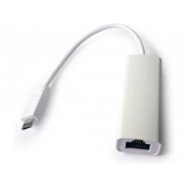 Adaptador/Conversor Micro USB  - Lan RJ45